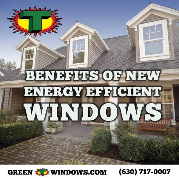 Benefits of New Energy Efficient Windows
