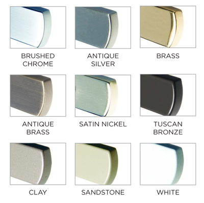 Window Hardware Colors