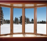 Four Wide Bow Window with Casement Flankers
