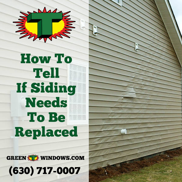 How to Tell Siding Needs to be replaced